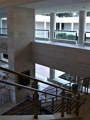 Ocala, FL, Appleton Museum of Art, Interior (Mary Warren (8.7+ Million Views)) Tags: ocalafl appletonmuseumofart architecture building stairs staircase courtyard