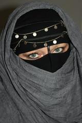 The Eyes (Fia by Marv) Tags: niqab woman eyes verhüllt veil veiled verschleiert augen oriental tücher schleier scarf vividstriking