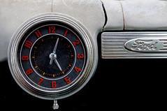 Time to Trip (Bill Baldridge) Tags: ford clock chrome