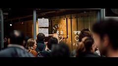 Leica Queue (Panda1339) Tags: zeiss aposonnart2135 notice london cinematic queue zeissaposonnart2135 streetphotography nikondf chinatown carlzeiss uk ldn anamorpiccrop 241