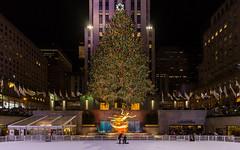 Engagement on Ice (jrodphoto305) Tags: engagement christmastree christmas rockefellercenter newyorkcity newyork holidays christmasday santaclaus engagementring ice iceskate unitedstates usa us