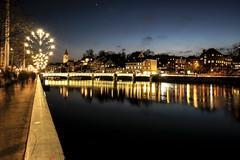 Zurich 2 (Urbiphotografia) Tags: urban zurich longexposure citylights night nightshots switzerland europe lights bridge river nightphotgraphy nite