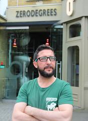 David Mellinas the new brewer at Zero Degrees (selcamra) Tags: camra selcamra realale beer londonpubs selondon