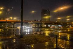 Sosnowiec (nightmareck) Tags: sosnowiec zagłębiedąbrowskie polska poland europa europe fotografianocna bezstatywu night handheld rain deszcz fujifilm fuji xe1 apsc xtrans xmount mirrorless bezlusterkowiec xf18mm xf18mmf20r fujinon pancakelens