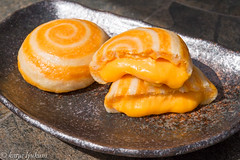 Golden Lava Steamed Buns (lyudavitaya) Tags: hongkong buns custard eggs salted steamed