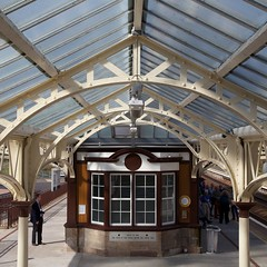 Gleneagles Railway Station (itmpa) Tags: gleneaglesrailwaystation gleneagles railwaystation 1919 1910s jamesmiller listed categoryb restored refurbished networkrail scotrail railway caledonianrailway architecturalheritagesocietyofscotland ahss studytour scotland archhist itmpa tomparnell canon 6d canon6d