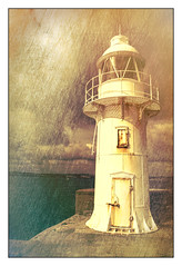 Brixham (williamwalton001) Tags: lighthouse harbour texture water devon metal borders framed fineart clouds pentaxart awardtree trolled