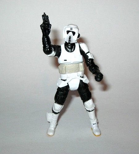 "Star Wars The Black Series 3.75/"" #07 Biker Scout-Hasbro 2013 carton"