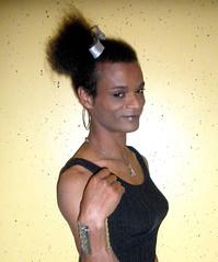 You wish 3 (Lisa/Anders - Ninja Transvestit Danmark) Tags: man male feminine afro tgirl tranny transvestite tight trans ebony ladyboy mand feminin femininity mulatto transvestit mulat