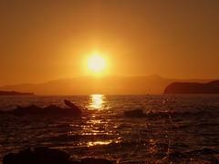 Cretan sunset (JoannaRB2009) Tags: sunset sea sun seascape nature water landscape evening clear crete kriti