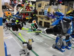 MFZ Warzone @ Denver Comic Con 10 (FragsturBait) Tags: mobile lego frame zero mecha mechaton mfz mobileframezero