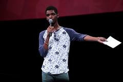 Kingsley (Gage Skidmore) Tags: california center lilly convention kingsley anaheim singh 2014 superwoman youtube vidcon
