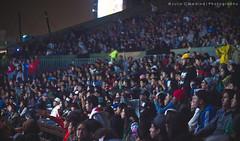 Crowd. (Julio C. Medina) Tags: urban canon 50mm lima 14 crowd per rap nikkor adidas ais 550d t2i puracalle