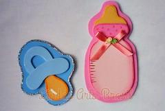 Lembrancinhas Chupeta e Mamadeira (lindas_artsbrasil) Tags: eva beb maternidade bico mamadeira chupeta chdebeb lembrancinha