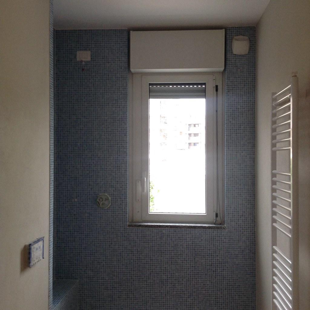 Pavimento bagno mosaico piastrelle adesive pavimento - Pannelli adesivi per bagno ...