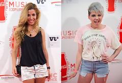 Angy y Natalia ¡Los shorts arrasan en el concierto de Miley Cyrus!