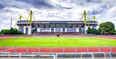 Dortmund - Westfalenstadion (Der Michl) Tags: germany europe stadium nrw dortmund hdr bvb westfalenstadion borussia signalidunapark tonemapped borderfx