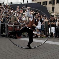 """Cirque - Festival International de Jazz de Montral 2014 - Animation Place des arts - """"Moi et les Autres"""" (eburriel) Tags: show street canada art festival circo place montral jazz rue cirque acrobate 2014"""