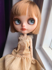 Meet Tea (dejavoodoo_) Tags: haircut hair toy toys doll dolls felix bob fringe sprinkles short shorthair blythe neo bangs pure toffee blythedoll neemo rbl dollphotography karolin pureneemo neoblythe karolinfelix toffeesprinkles