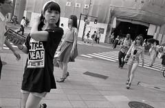 Shinjuku (View Master 187) Tags: japan 35mm canon tokyo shinjuku kodak ae1 11 400 program f2 fd xtol nfd kentmere