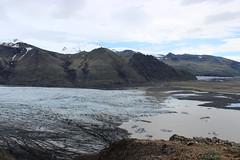 Skaftafell glacier (Vatnajökull National Park)