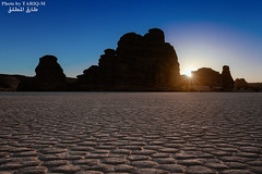 Al-Ula Rocks (TARIQ-M) Tags: sunset mountains art silhouette sunrise landscape sand desert ripple dunes wave galaxy camels riyadh saudiarabia hdr milkyway canonef1635mmf28liiusm canoneos5dmarkiii tariqm 100606169424624226321poststariqm1