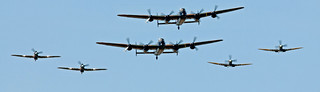 BBMF flypast from the beer tent! [Explored 29 Jul 14 - Thank you!]