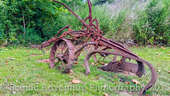 Old-School Plow (Southern New England Photography) Tags: canon decay rustic rusted oldtimer plow agriculture sigmalens eos70d sigma1750mmf28dcoshsm