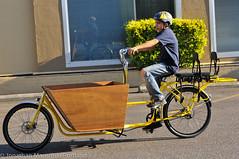 Finch-fiets unveiling at Velo Cult-18 (BikePortland.org) Tags: cargobikes metrofiets emilyfinch finchfiets