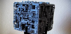 (Star Trek) Custom LEGO® BORG Cube (01) (jonmarkiewitz) Tags: startrek lego borg moc borgcube