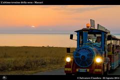 768_NSC_6316_bis_Macari (Vater_fotografo) Tags: seascape nikon tramonto nuvole nuvola cielo sole treno spiaggia sicilia controluce sabbia nwn trenino sanvitolocapo sanvito ciambra nikonclubit salvatoreciambra clubitnikon vaterfotografo