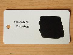 Noodler's Zhivago - Word Card