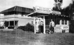 Irvine service station, circa 1920s (Orange County Archives) Tags: california history historical southerncalifornia orangecounty irvine irvineranch oldtownirvine orangecountyarchives orangecountyhistory oldirvine