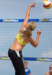 P8150276 (roel.ubels) Tags: beach sport scheveningen denhaag beachvolleyball volleyball thehague volleybal nk 2014 beachvolleybal nevobo