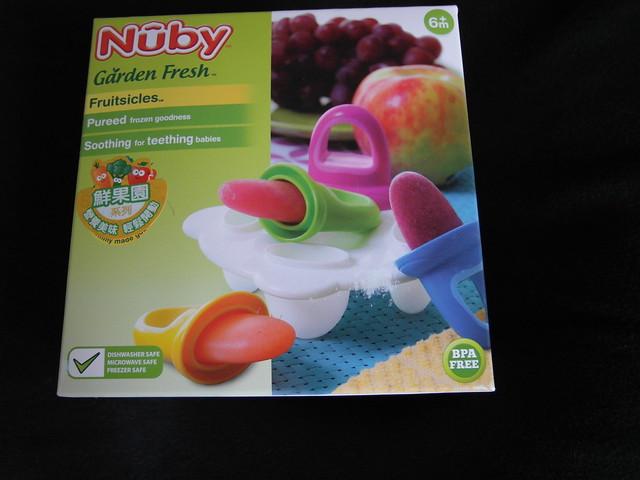 蔬果好冰棒(製冰盒)@Nuby 鮮果園系列副食品工具
