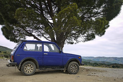 Lada Niva (MauriceVanGestel Photography) Tags: auto road blue mountain holiday mountains cars berg car azul island greek vakantie high cool offroad 4x4 hellas kreta greece coche crete autos bergen suv russian functional lada coches practical niva eiland laki terrein coolcar stoer griekenland russiancar affordable kriti russisch grieks hoog terreinwagen kares   ladas ladaniva praktisch bauw grieken omalos omaloscrete betaalbaar ladaniva4x4 lada4x4 lakkoi russischeauto niva4x4 omaloskriti russischeterreinwagen carscrete kareskriti ladasuv bluelada lakkoikriti ladagriekenland stoerelada blauwelada coolelada lakkoicrete ladagreece karescrete autoskreta