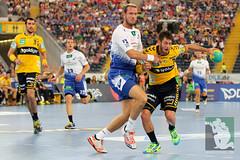 "DKB DHL15 Rhein-Neckar-Löwen vs. HSV Handball 06.09.2014 026.jpg • <a style=""font-size:0.8em;"" href=""http://www.flickr.com/photos/64442770@N03/14982600598/"" target=""_blank"">View on Flickr</a>"