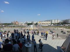 Nur Ghasyr mosque square (bibitalin) Tags: mosque kazakhstan masjid mosques  aktobe  aktjubinsk aqtobe