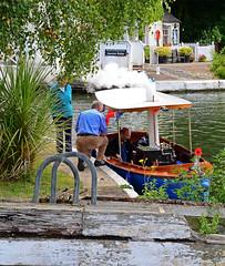 Genevieve. (curly42) Tags: boat canal steam waterway genevieve steampower gloucestersharpnesscanal steamlaunch sauljunction