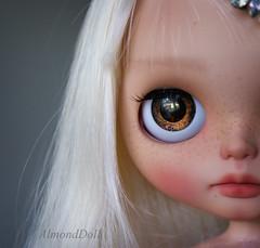 Eloise my new custom Blythe