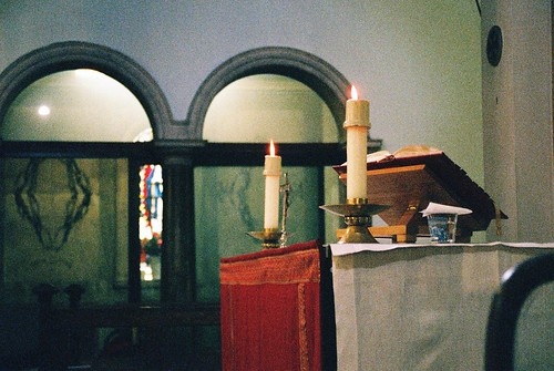 St Saviour's Altar in Red