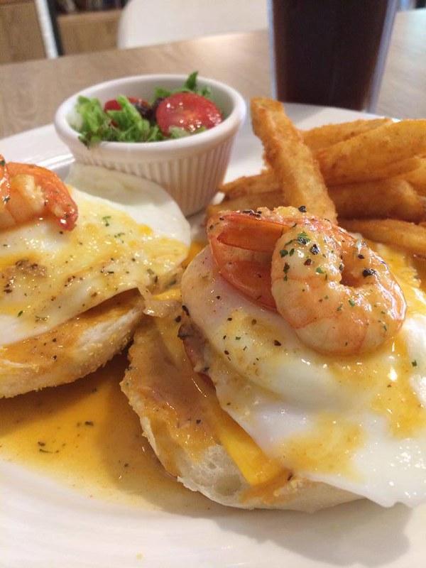 烹蝦漢尼克早午餐250