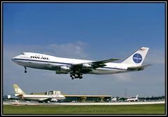 N751PA Pan American World Airways - Pan Am (Bob Garrard) Tags: world sun am american mia midnight pan boeing airways 747 clipper kmia n751pa