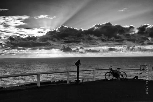 Bike Telescope Sunset