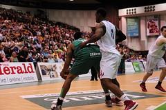 Raiders_28.09.14_166_FotoPlus (foto_plus) Tags: game sports basketball hoop court slam university basket cheerleaders plymouth surrey heat pavilion cheerleader bball raiders dunk fotoplus