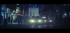Blueberry Night (James Yeung) Tags: london night cinematic anamorphic