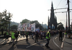 People's Climate Change March (chairmanblueslovakia) Tags: party green march edinburgh scottish peoples change climate warming global 2014 peoplesclimatechange