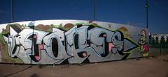 """arabiapanoramavalmis (Helsinki street art office Supafly) Tags: street streetart color art suomi finland graffiti helsinki colorful spray urbanart spraypaint graff hel kiva graffitiart """"street graffitiwall art"""" katutaide supafly graffitiaita helgraffiti katutaideseinä"""