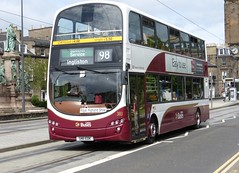 383 - SN11 EDK (Cammies Transport Photography) Tags: show bus buses eclipse volvo coach edinburgh place royal 98 special highland service wright gemini lothian 383 edk shandwick ingilston sn11 sn11edk