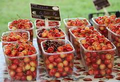 Tempo di ciliegie (stgio) Tags: summer food fruit composition cherries market frutta